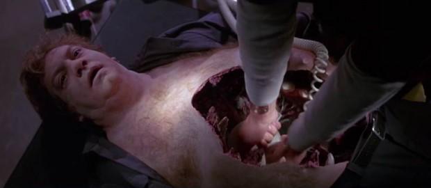 """Cena de """"O Enima de outro Mundo"""" (1982), de John Carpenter"""