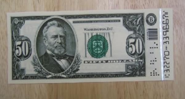 Uma nota de 50 dólares do usuário Jedifyfe (The RPF)