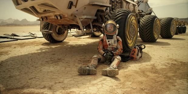 """Matt Damon em """"Perdido em Marte"""""""